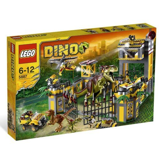 LEGO Dino Defense HQ 5887. Retired Jurassic Park World