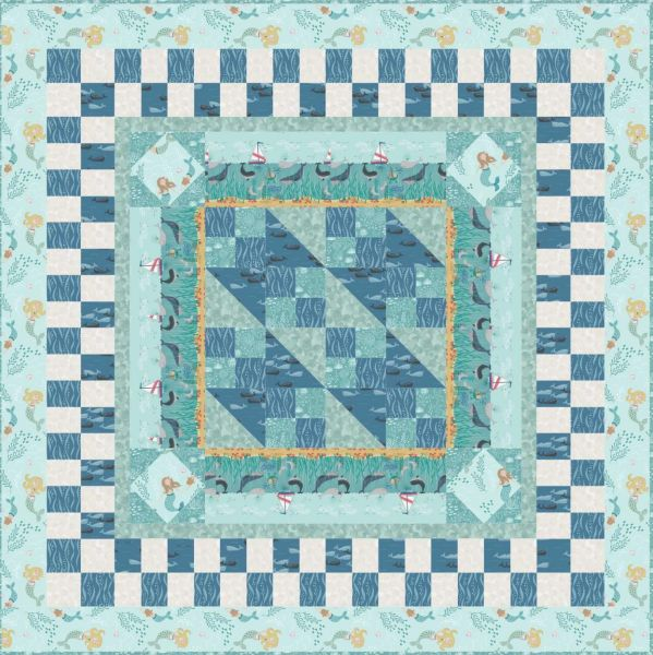Quilt 2 Tales of the sea Lewis & Irene Designed and made by Sally Ablett