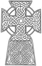 Celtic Crosses from Marcel's Kid Crafts
