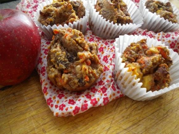 Morning Glory Power Muffin Nuggets  @Nourish Water Paleo Foods