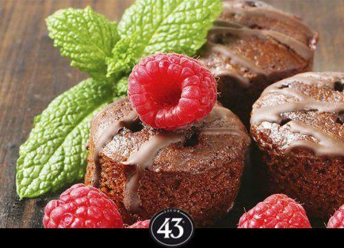 Warm chocoladetaartje - Licor 43