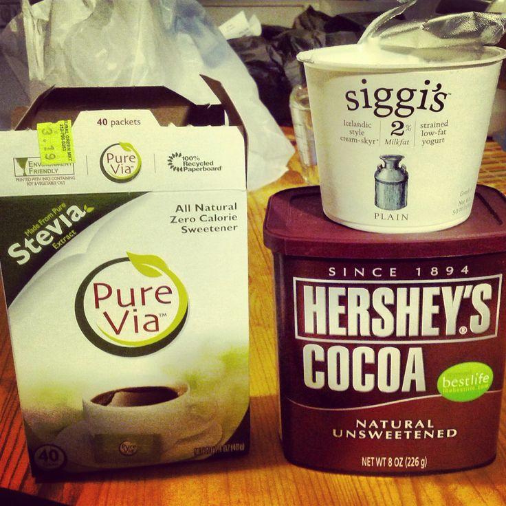 Greek Yogurt Chocolate Pudding - 110 Cal, 14g Protein, 4g Sugar