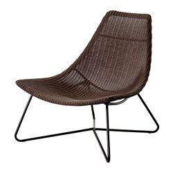 RÅDVIKEN Sillón, marrón oscuro, negro - marrón oscuro/negro - IKEA