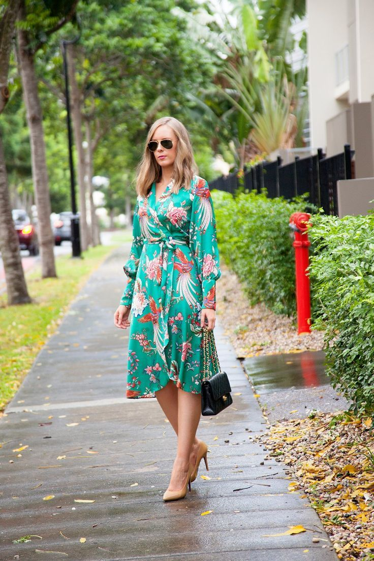Green Dress For Spring! #springfashion #springdress