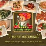 I menù autunnali - pdf gratuito da scaricare