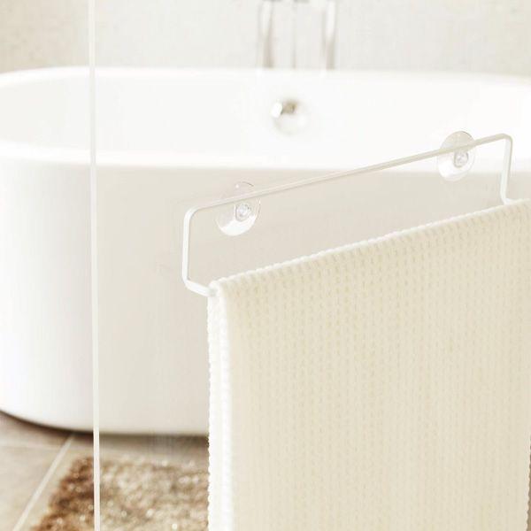 どんなシーンにも合うバスルームの収納タワーシリーズ。。クーポン!タオルハンガー「タワー」(L/ホワイト)【タオルハンガー タオルホルダー ハンガー タオルバー タオル掛け おしゃれ 洗面所 浴室 タオルかけ 収納 おしゃれなタオル掛け タオルフック バス用品 バスルーム お風呂 吸盤 シンプル モダン スチール】