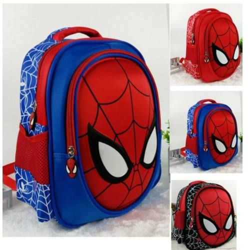 Kids #marvel #spiderman backpack 3d spider-man boys #grils rucksack school bags,  View more on the LINK: 	http://www.zeppy.io/product/gb/2/302012947441/