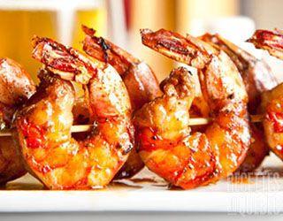 #Brochette de #crevettes grillées #recettesduqc #BBQ