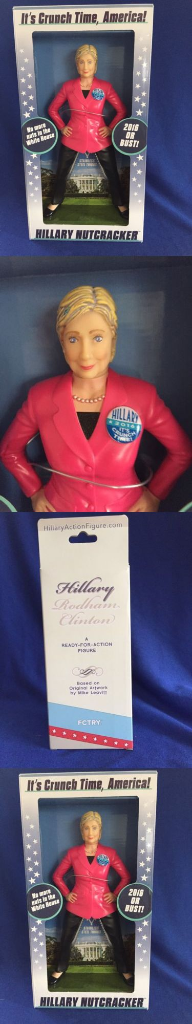 Hillary Clinton: Hillary Clinton Nutcracker 2016 Presidential Election Candidate - Free Shipping BUY IT NOW ONLY: $22.5