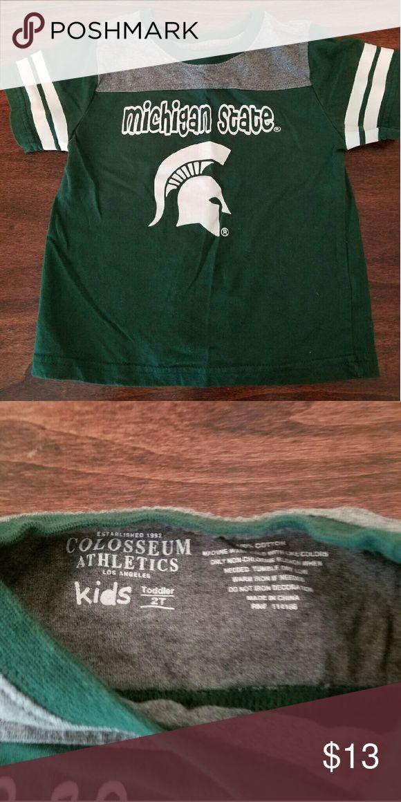 Michigan State University t-shirt 100% cotton Colosseum Athletics Shirts & Tops Tees - Short Sleeve
