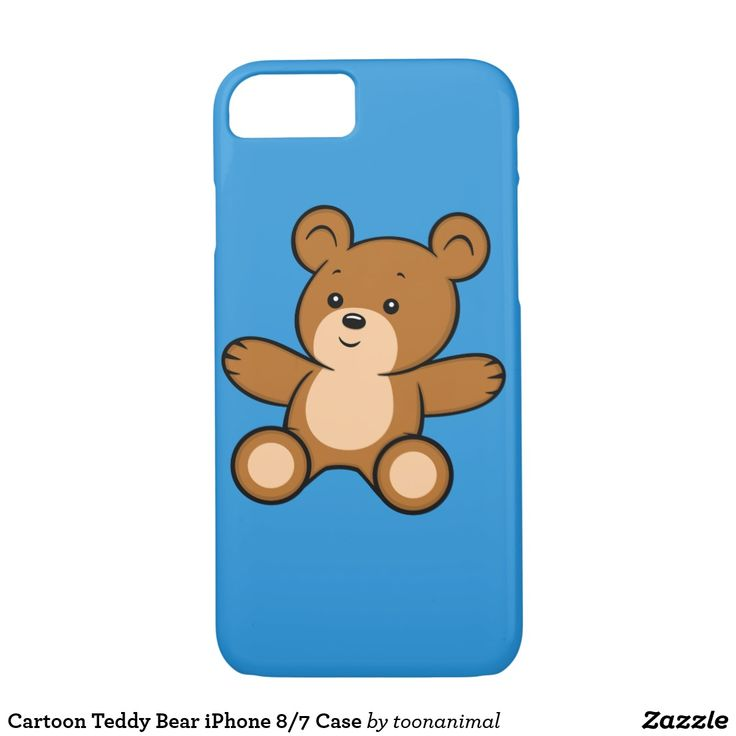 Cartoon Teddy Bear iPhone 8/7 Case