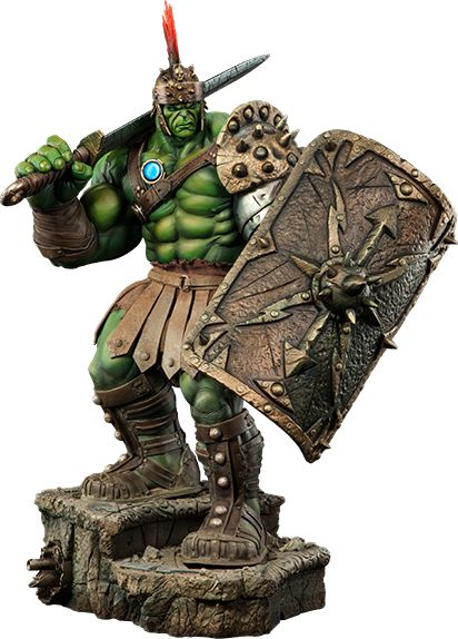 Gladiator Hulk Hulk Premium Format™ Figure by Sideshow Collectibles