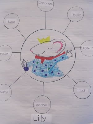 Author Study of Kevin Henkes - students also create own character map