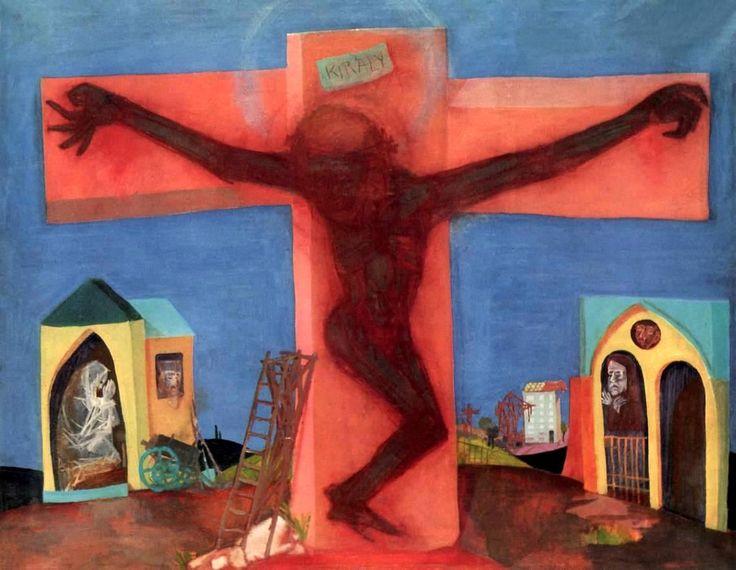 KONDOR Béla: Pléh-Krisztus, 1964