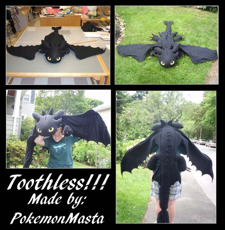 toothless! :)