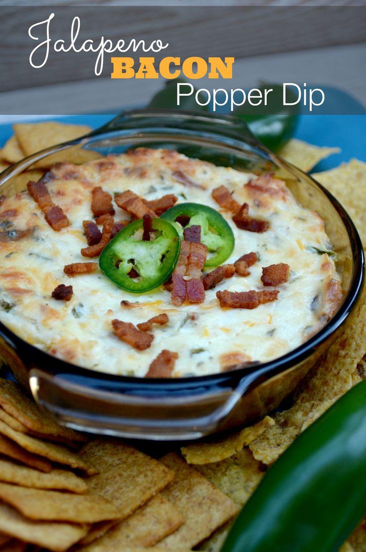Bacon Jalapeno Popper Dip Recipe | Baking Beauty #bacon #jalapeno #dip #recipe