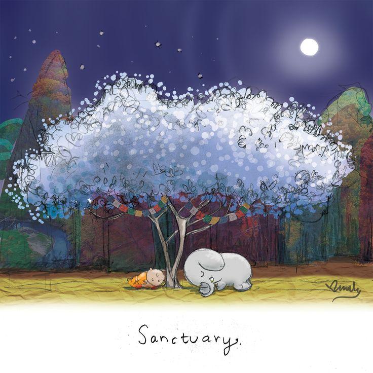 Today's Doodle: Sanctuary