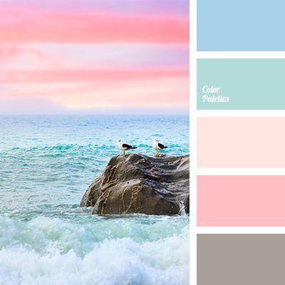 Ocean Sunrise - Color Palettes