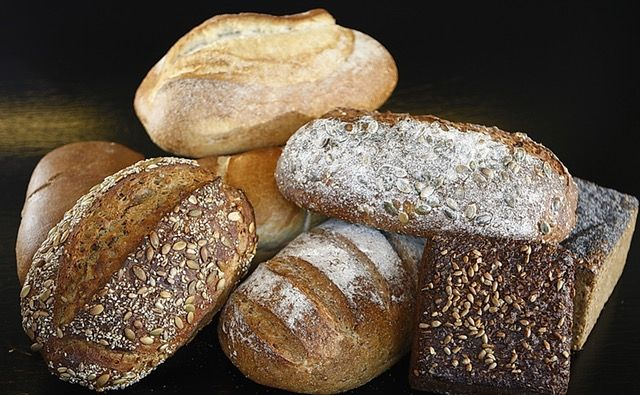 Wholegrain bread is a good source of starch.
