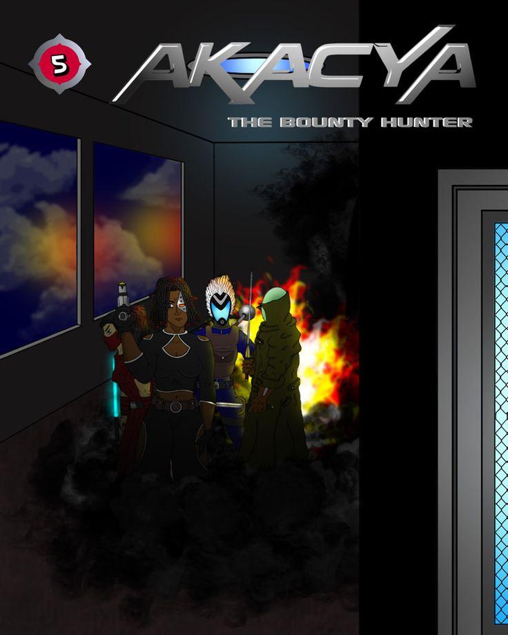 page 95 cover 5 #comic #webcomic #akacya #scifi #actioncomic #comics #bd #sequientialart #bountyhunter