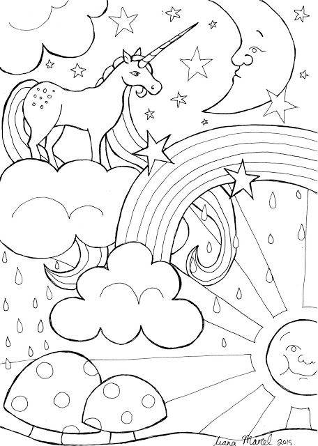 Liana Marcel - Keep calm and craft!: Make a DIY Unicorn magical whimsical card with my ...