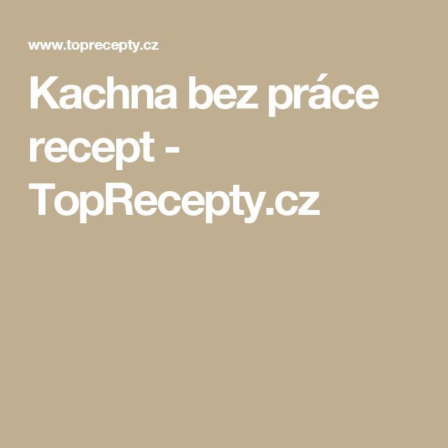 Kachna bez práce recept - TopRecepty.cz