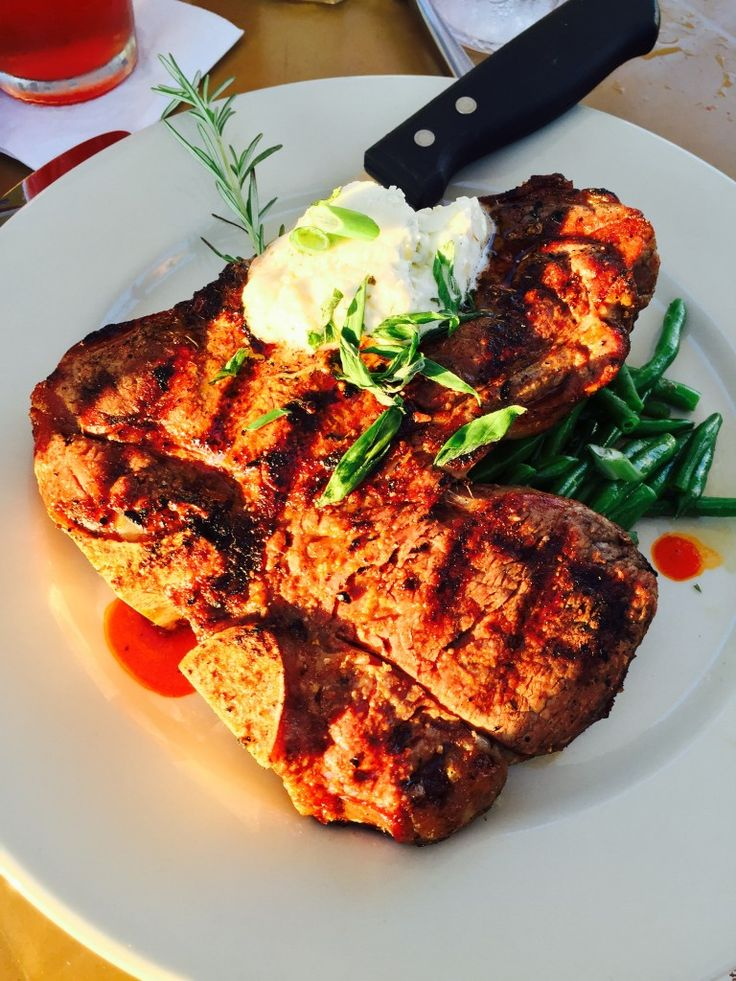 Porterhouse Steak - Snug Harbor Grand Haven, Michigan
