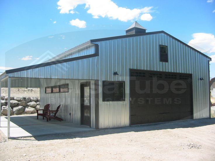 summit metal garage building kit by versatube