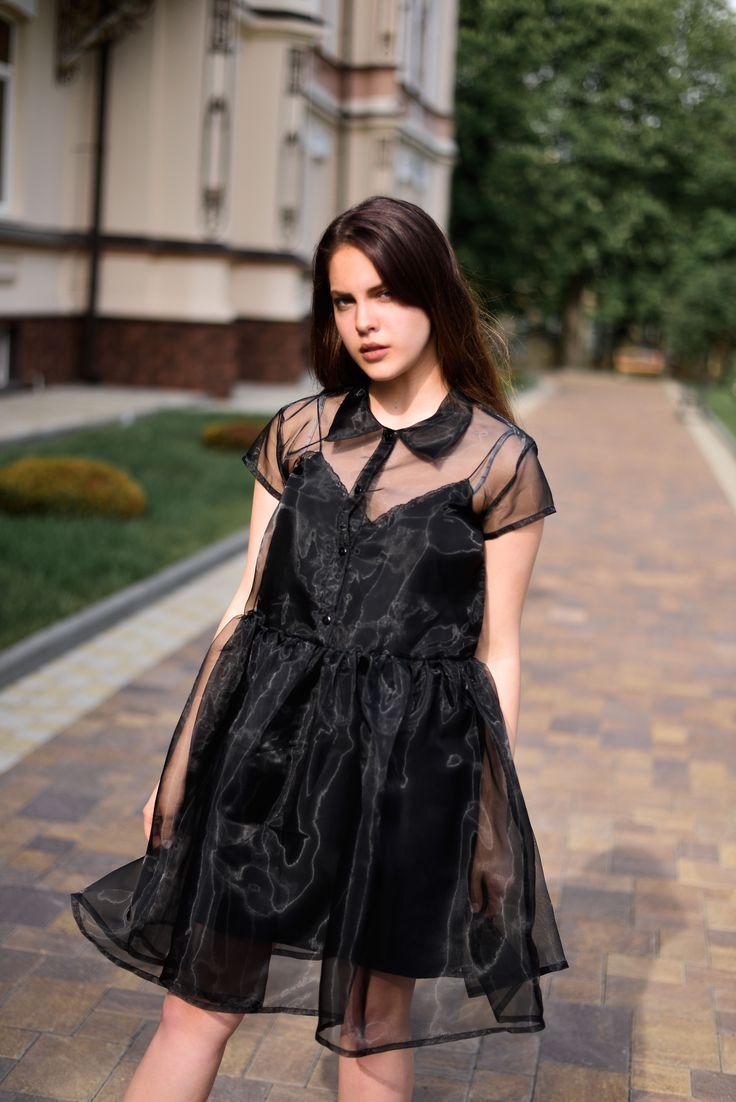Платье Baby doll из органзы @metrag.m