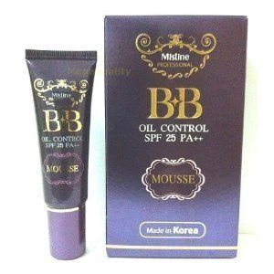 Mistine Bb Oil Control Foundation Mousse Spf 25 Pa ++ Made in Thailand by Mistine. $16.26. Brand : MISTINE Product Size : 15 g. / 0.52 oz. Condition : Brand new & Never used with a seal pack BB oil control mousse spf 25 PA++ (made in Korea) This formula is combination of Light and Smooth Powder Technology. 85% of 400 sampling women who tried this BB mousse are like it and switch to use this mousse. Decription : Mistine BB Wonder Loose Powder The new loose face powder wi...