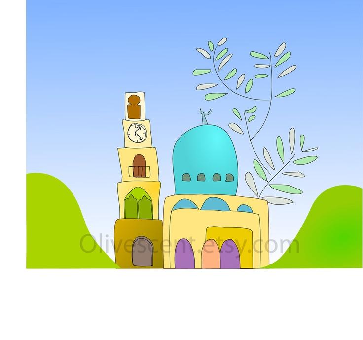 Nablus , Palestine print
