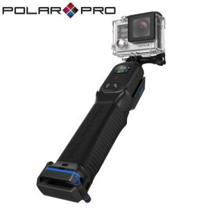 PolarPro ProGrip 4 in 1 Floating GoPro Remote Grip - The ProGrip from PolarPro is so much more than just an average grip. Featuring dry storage for up to two batteries, floating ability so you'll never lose it underwater and a compartment for the GoPro remote, you can capture amazing footage with this handy