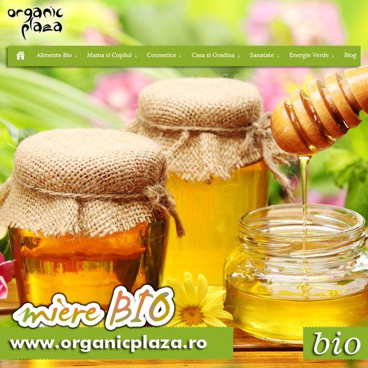 Produse apicole Bio! Miere, Catina si Propolis Bio http://organicplaza.ro/miere