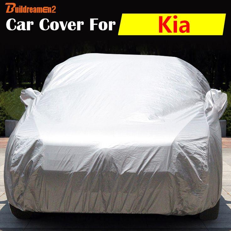 Buildreamen2 Car Cover Vehicle Anti-UV Sun Rain Snow Protector Scratch Resistant Cover For Kia Rio Cerato Sportage Venga Rondo