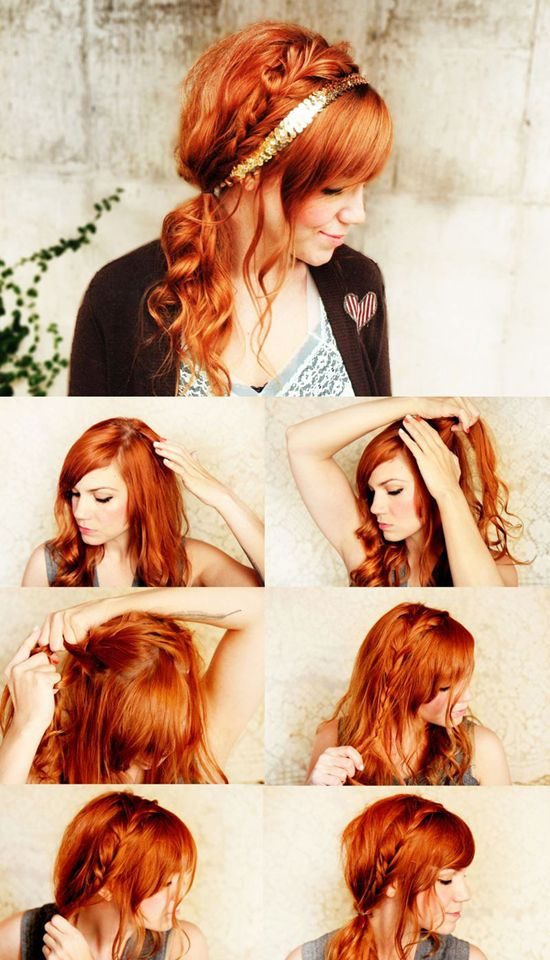 116 best red ombre hair stylescolors images on pinterest long hairstyles for girls with orange hair extension clip in pmusecretfo Choice Image
