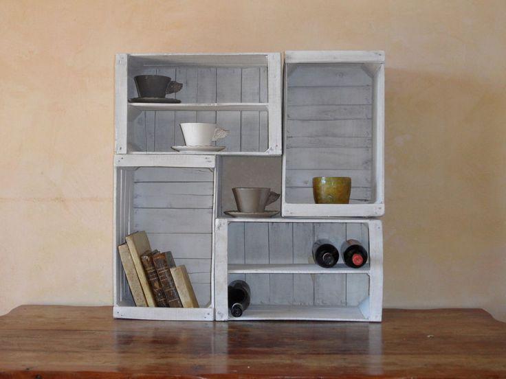 Oltre 1000 idee su legno bianco su pinterest cucine - Cucina legno bianco decapato ...