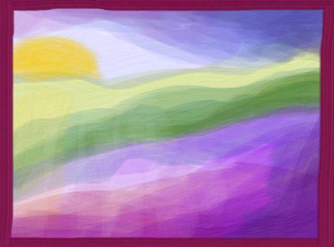 Lilac Sunrise - small