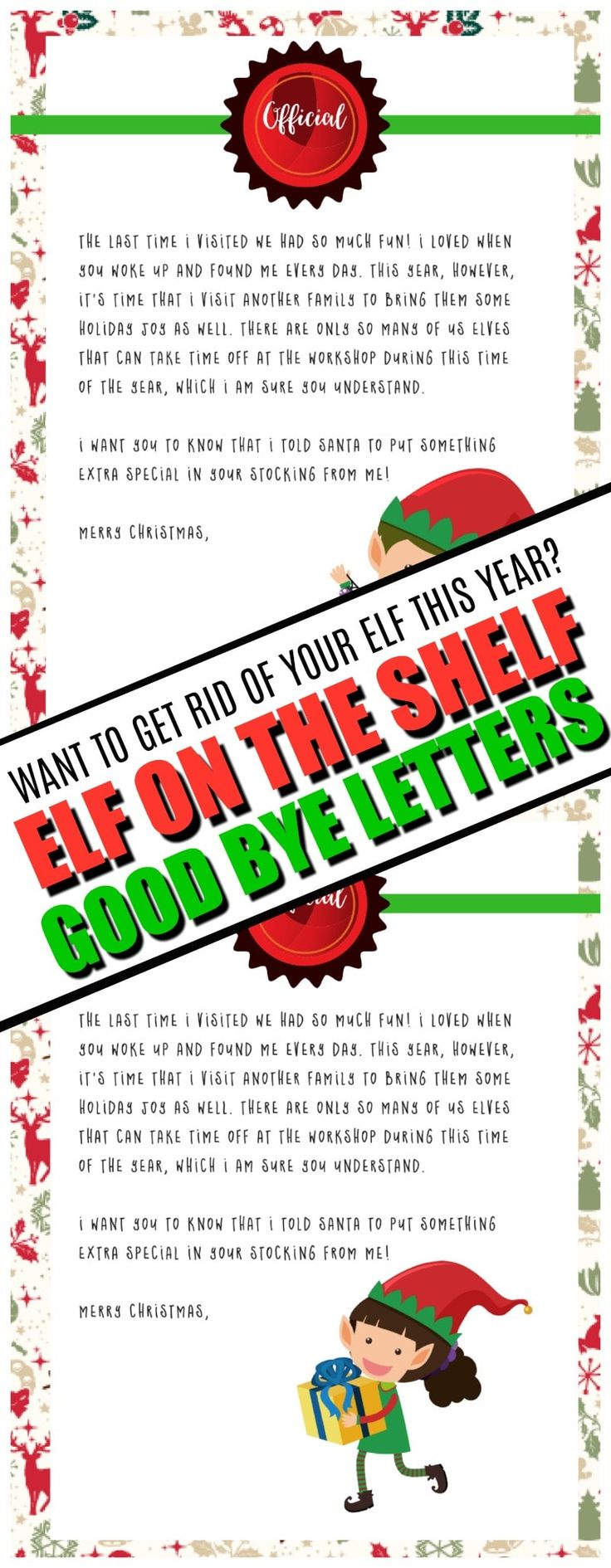 graphic about Elf on the Shelf Goodbye Letter Free Printable referred to as Luxurу Cost-free Printable Upon The Shelf Goodbye Letter upon the