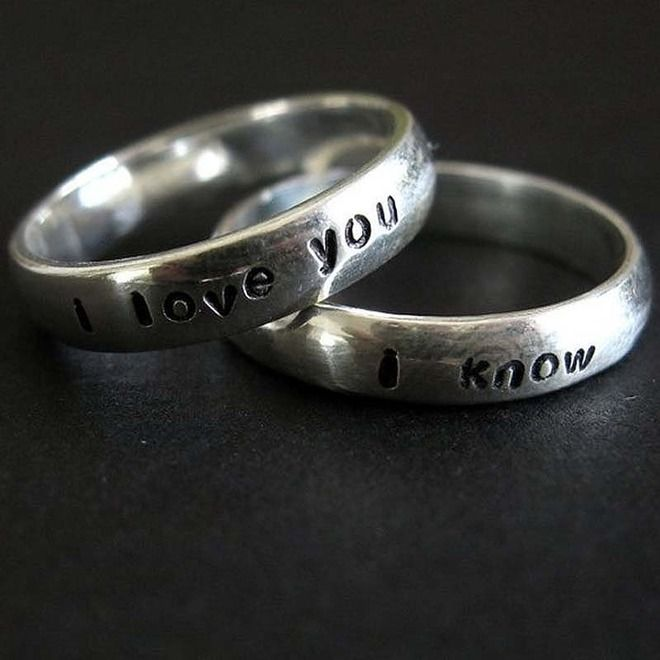 Unusual wedding rings - Imgur
