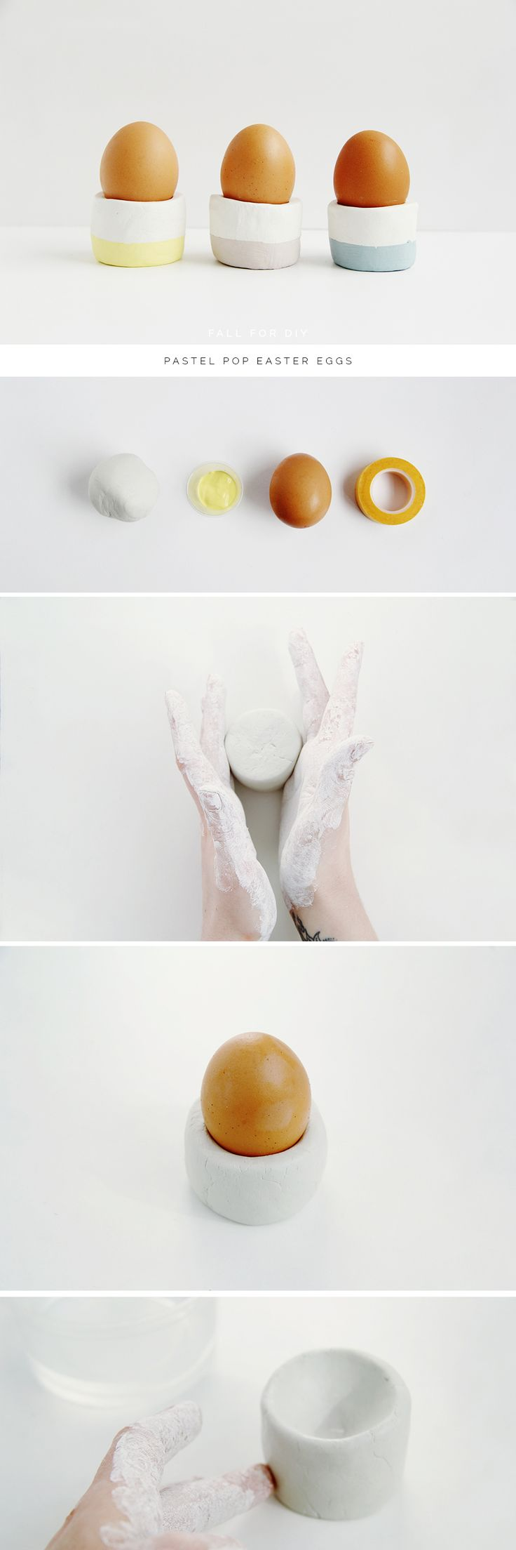 Fall For DIY Easter Egg Cups Tutorials