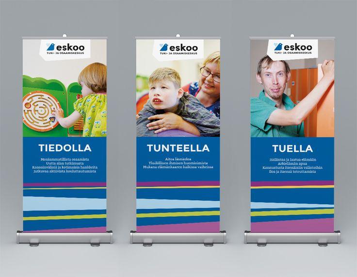 Tuki- ja osaamiskeskus Eskoo – Roll-upit