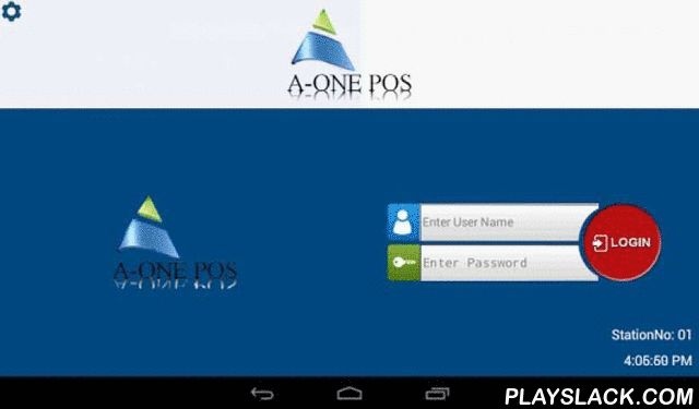 AOnePos  Android App - playslack.com ,  The A-One POS's Retail and Restaurant solution is scalable for many types of retail and restaurant stores, single or multi-site.It is a one stop POS solution comprising of state of the art features which are must in any POS product. It is targeted to variety of retail verticals including . Convenience Store, Apparel \ Clothing , Grocery & Supermarket , Liquor Stores,Gift shops, Museum shops, Book stores, Car Wash (Using BLUE Tooth Printers)…