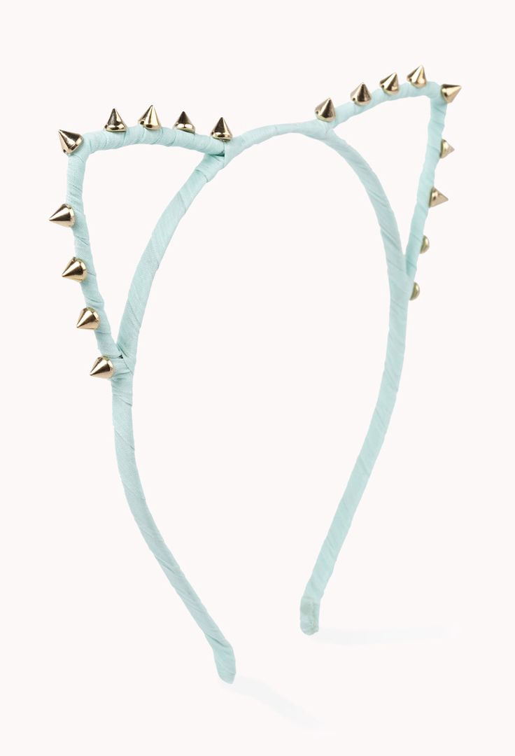 Spiked Cat Ear Headband, I have a black one so im happy but ill take a mint one too