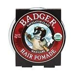 Keep your man mane looking its majestic best, with Badger's organic hair pomade for gents. This pomade is a non-drying, non-greasy formula that provides medium hold so you can create and define any style you wish. Plus it adds shine so your hair stays flexible and looks healthy all day. Free of parabens and harsh synthetic ingredients; it's made with a blend of babassu oil, beeswax and other plant extracts to protect and nourish your hair during styling.