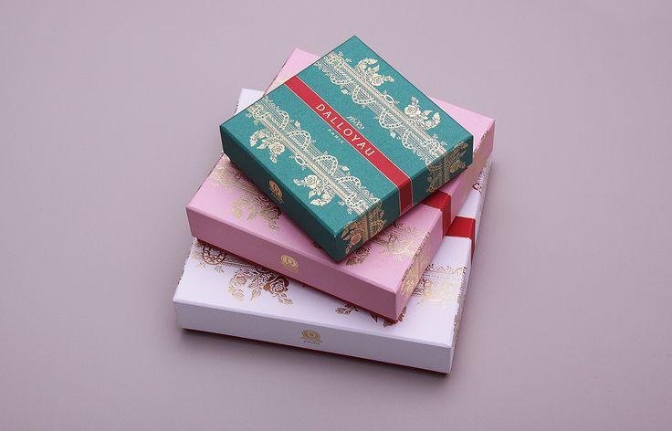 Beautiful Delicate Macaron Packaging — The Dieline - Branding & Packaging Design