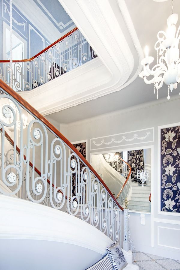 14 best Luxury Design \ Decor images on Pinterest Mansions, French - escalier interieur de villa
