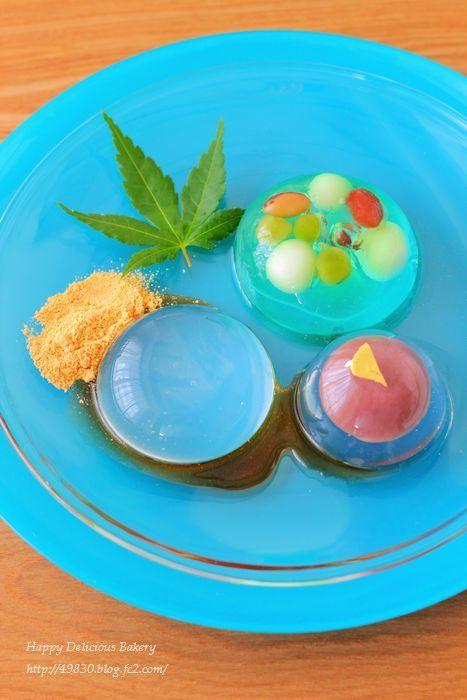 夏の和菓子3種♪ -  ♪Happy Delicious Bakery