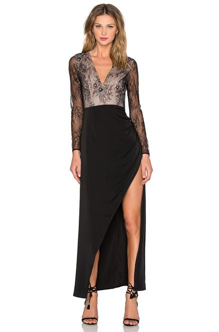 Lovers + Friends x REVOLVE A Lister Gown in Black | REVOLVE