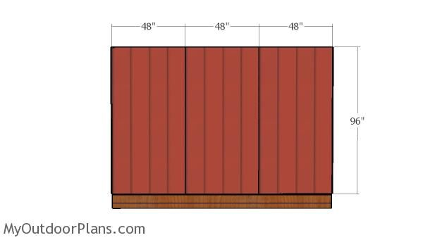 10 12 Shed With Flat Roof Plans Flat Roof Shed Wall Siding Panels Flat Roof