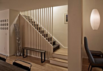 Townhouse Renovation in San Diego - contemporary - staircase - san diego - Jon+Aud Design